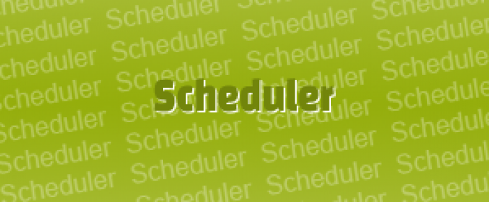 How do I show an Associate's vacation on the schedule?
